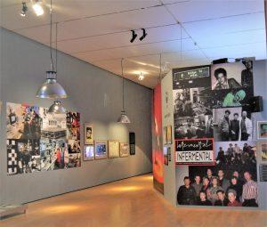 Vue de l'exposition Frigo Generation 78/90 au MAC Lyon