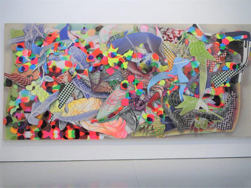 Frank stella fladrine au mamc de saint etienne art for Frank stella peinture