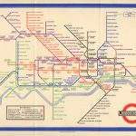 Le plan du métro de Londres, Harry Beck, 1933.