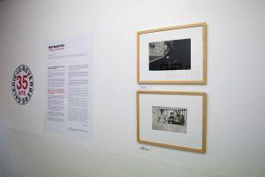 """Notre beauté fixe """" Photolalies """" pour Denis Roche Exposition présentée du 10 septembre au 31 décembre 2016 Galerie Le Réverbère, Lyon Pour : ©Galerie-Le-Reverbere-35ans-01.jpg"""