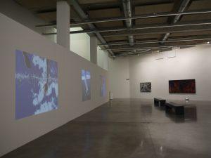 FRAC PACA, vue de l'exposition de Thierry Fontaine - Vers le but -
