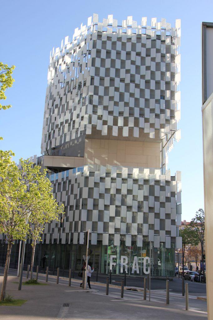FRAC PACA, Marseille. Architecte : Kengo Kuma. © JC Lett