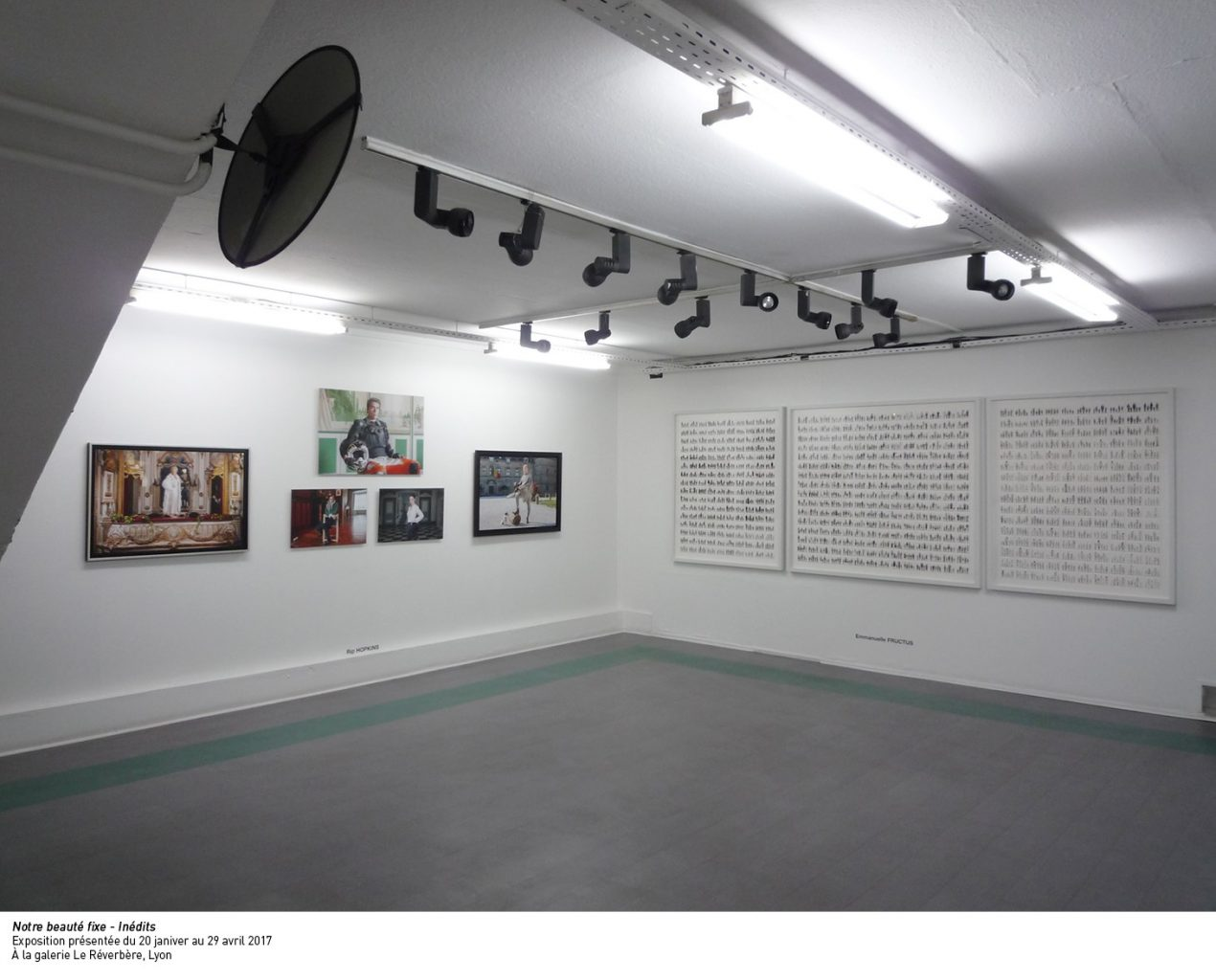 Notre beauté fixe Inédits Exposition présentée du 20 janvier au 29 avril 2017 ©Galerie Le Réverbère, Lyon