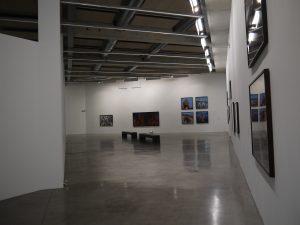 FRAC PACA, vue de l'exposition de Thierry Fontaine, Vers le but, sur un des plateaux d'exposition du musée, ©FrançoisBoutard.