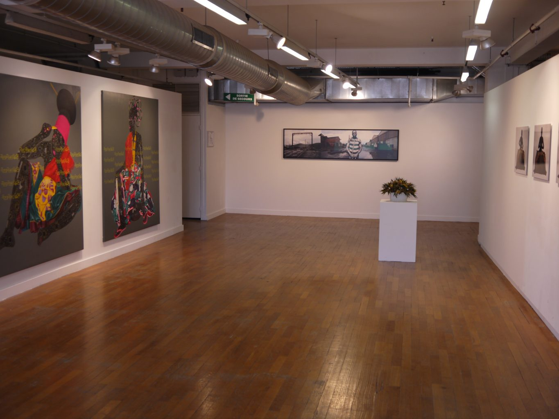 Vue de l'exposition Beautiful Africa, La Galerie du 5e, espace culturel des Galeries Lafayette Marseille Saint-Ferréol. Photographie ©FrançoisBoutard