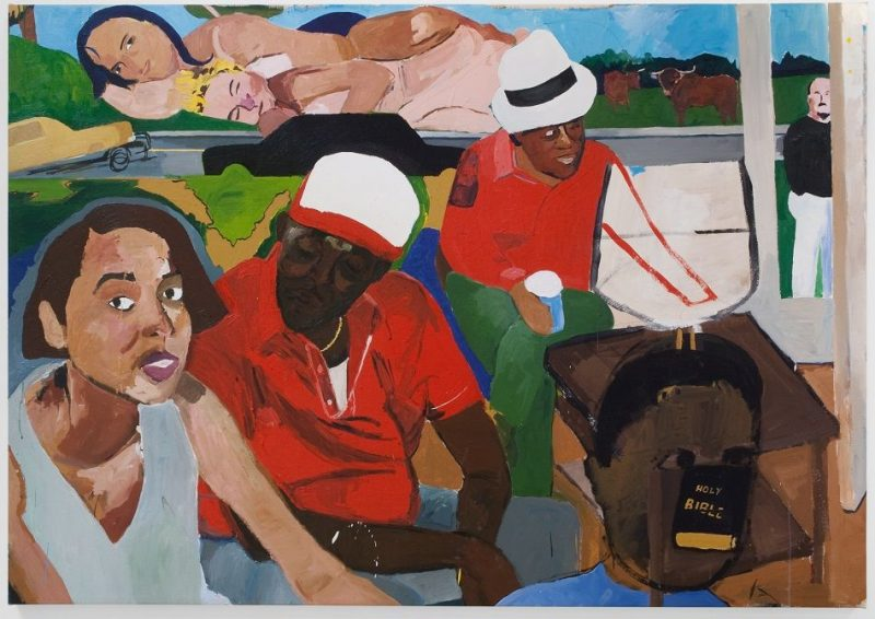 Henry Taylor, I'll Put a Spell on You, 2004. Peinture acrylique.