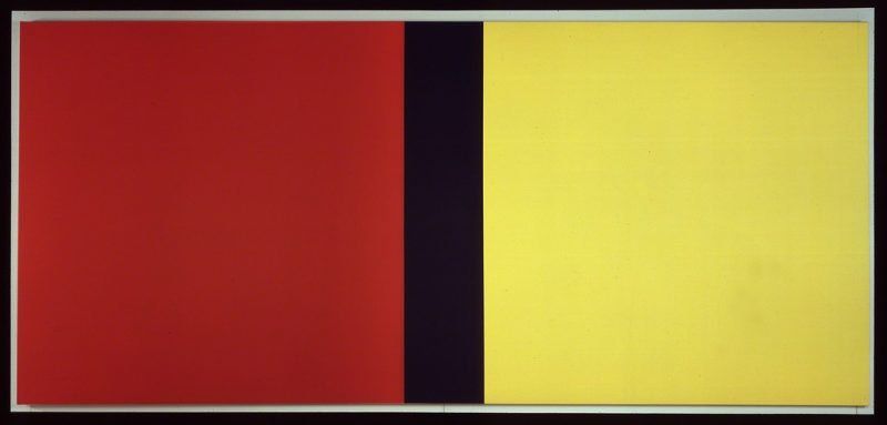 Barnett Newman. Who's Afraid of Red, Yellow, and Blue IV