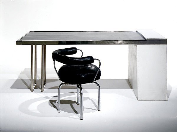 fauteuil pivotant b302 lc7 par le corbusier charlotte perriand et pierre jeanneret 1928 art. Black Bedroom Furniture Sets. Home Design Ideas