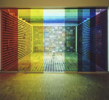 Salon Agam pour l'Élysée, réalisation Yaacov Agam 1972-1974, sous la présidence de Georges Pompidou