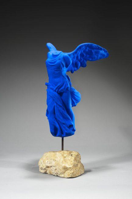 Victoire de Samothrace, Yves Klein. Sculpture de 1962.