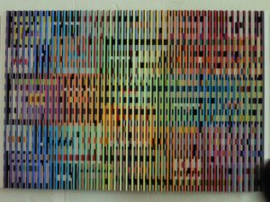 Yaacov Agam, Double Metamorphose III (Contrepoint et enchaînement), 1968-1969