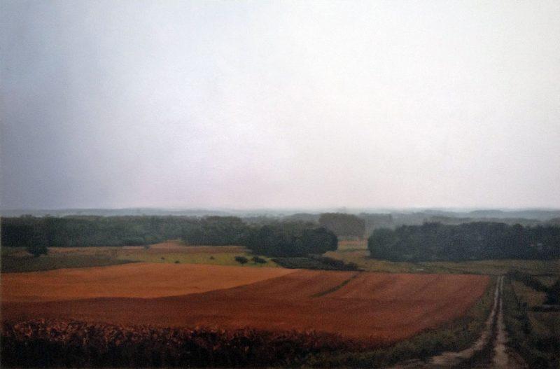 Gerhard Richter, Chinon n° 645, 1987, huile sur toile, 200 x 320 cm