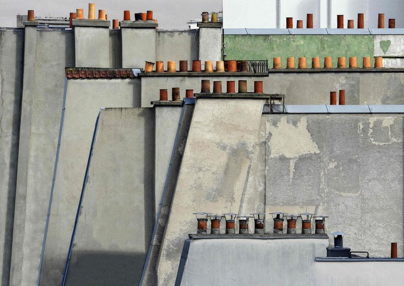 Michael Wolf, paris roof tops 4, 2014