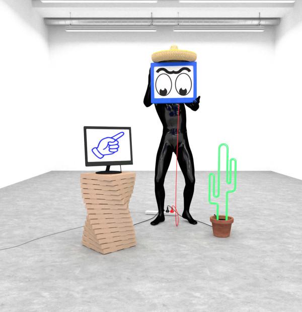 Casey Richardson, installation série Portals