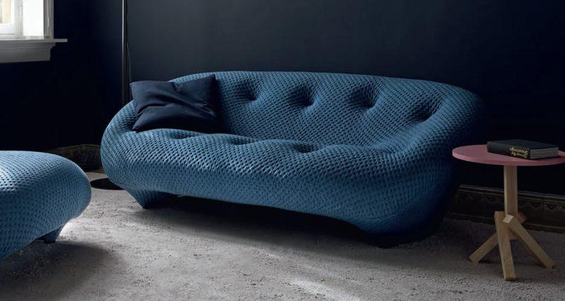 Canapé Ploum, design Erwan & Ronan Bouroullec pour Ligne Roset, 2011