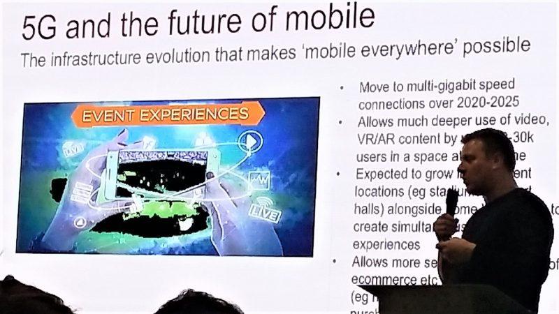 Conférence de Chris Michaels, Museum Connections 2018