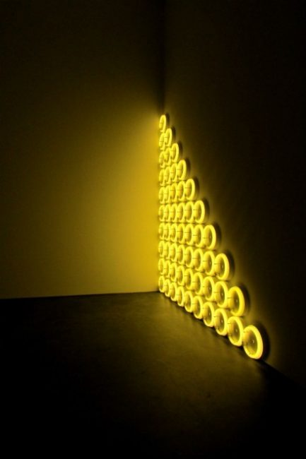 Dan Flavin, untitled (to a man, George McGovern), 1972