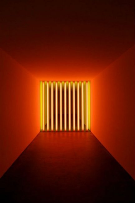 Dan Flavin, untitled (to Barry, Mike, Chuck and Leonard), 1972