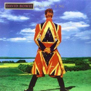 David Bowie, Couverture de l'album Earthling, 1997