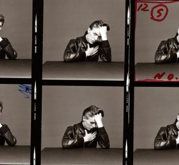 David Bowie, photos pour la couverture de l'album Heroes