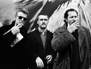 David Bowie, Damien Hirst & Julian Schnabel