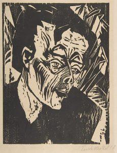 Erich Heckel, Roquairol, 1917