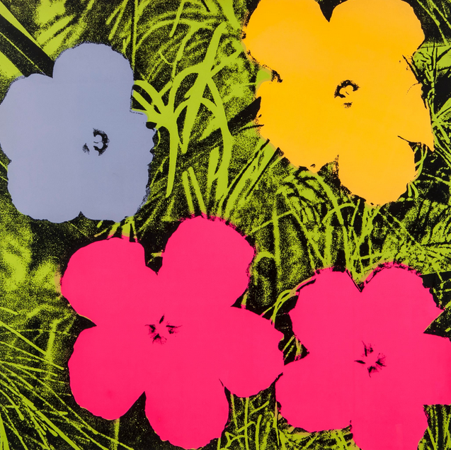 Andy Warhol, Flower 73, 1970