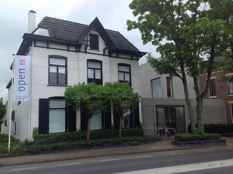 La maison natale de Piet Mondriaan, désormais un musée qui se visite à Winterswijk