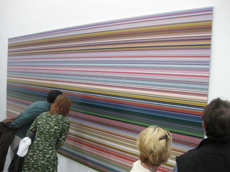 "Les fameuses bandes ""strip"" de Gerhard Richter"