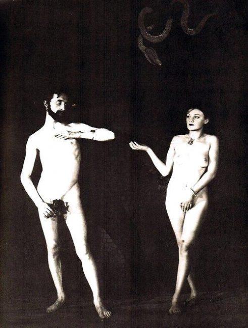 Man Ray, Adam et Eve, avec Marcel Duchamp et Brogna Perlmutter, 1924