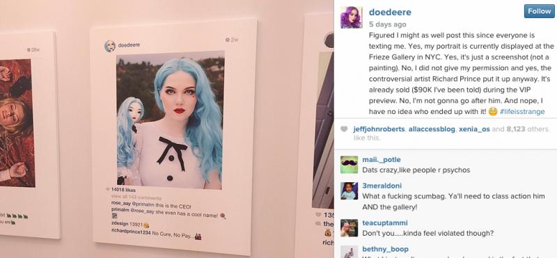 Compte Instagram de @doedeere