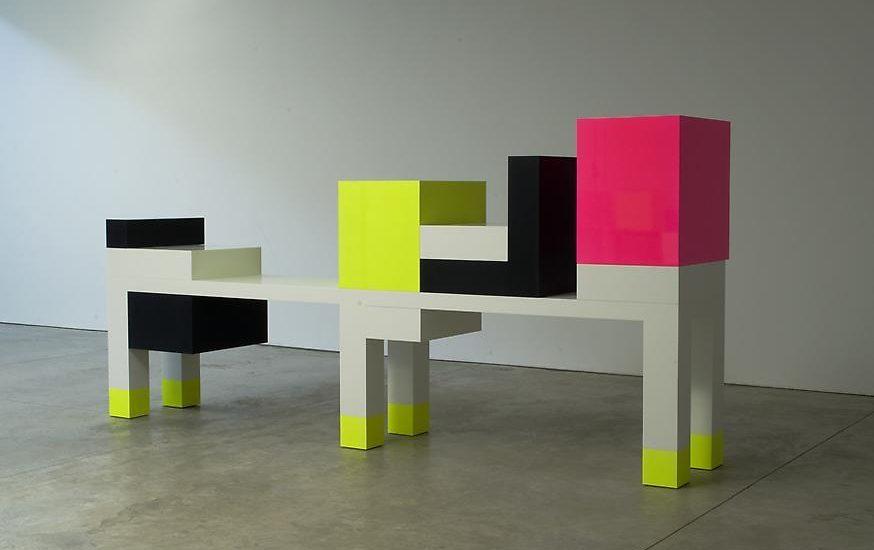 Ettore Sottsass : Hommage à Mondrian