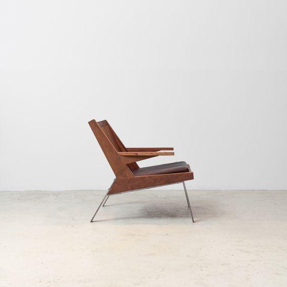 Fauteuil Guará, design Carlos Motta.