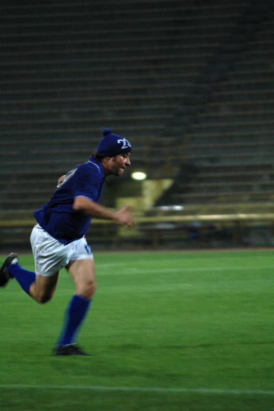 Massimo Furlan joue Massimo Furlan dans Numero 23, photo extraite de la performance.