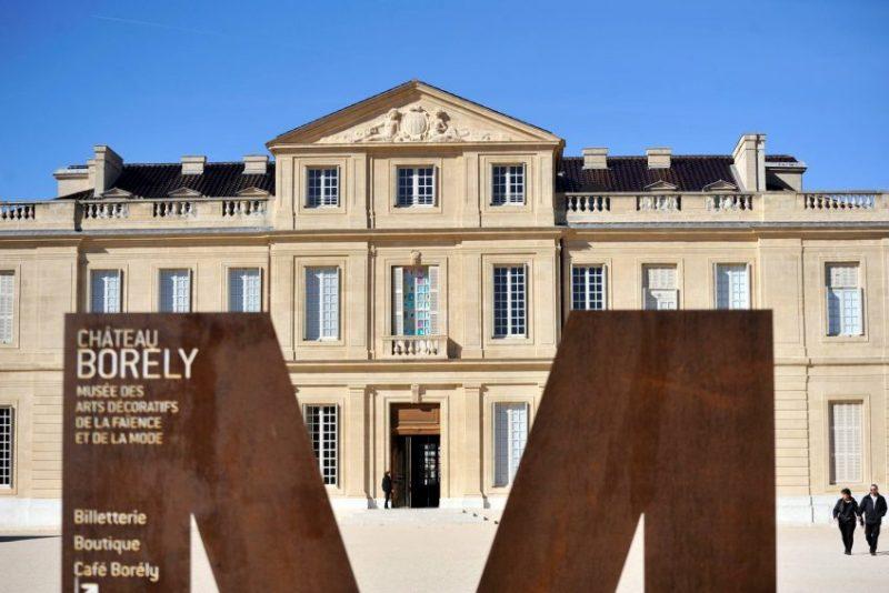 Château Borely, Musée des Arts décoratifs, de la Faience et de la Mode