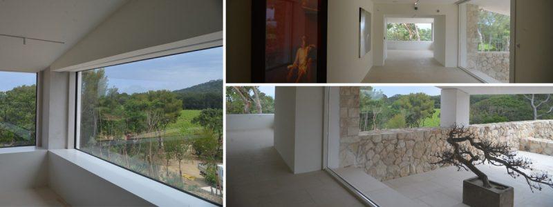Fondation Carmignac, vues de l'intérieur