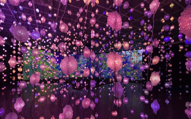 Pipilottti Rist, Installation Pixel Forest