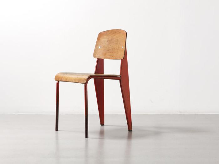 Jean Prouvé, chaise Métropole n°305, 1934