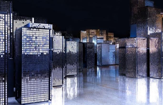 Kader Attia, Untitled (Skyline), 2007-2012