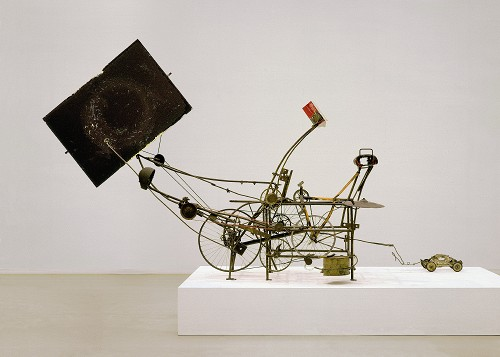 Jean Tinguely, Cyclograveur, 1960.