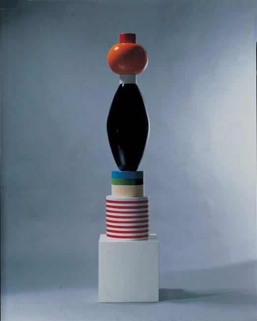 Totem MINT, Ettore Sottsass pour Mirabili, 1985