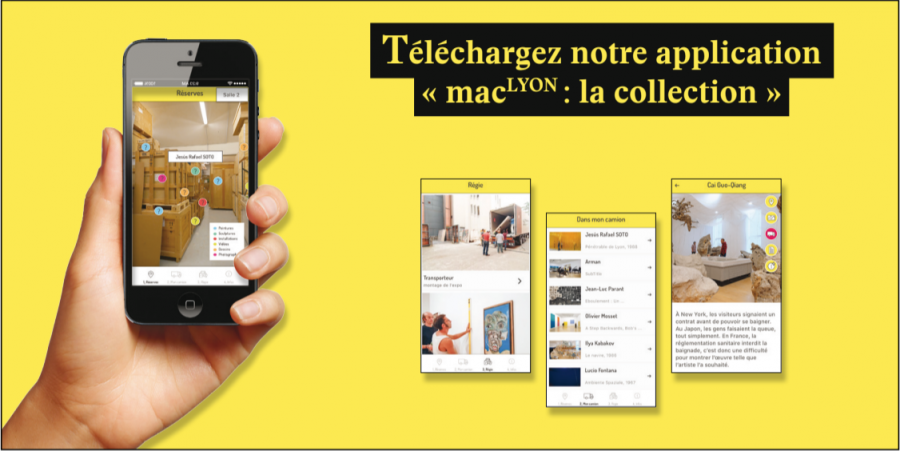 "J'ai testé l'application ""MAC Lyon : La Collection"""