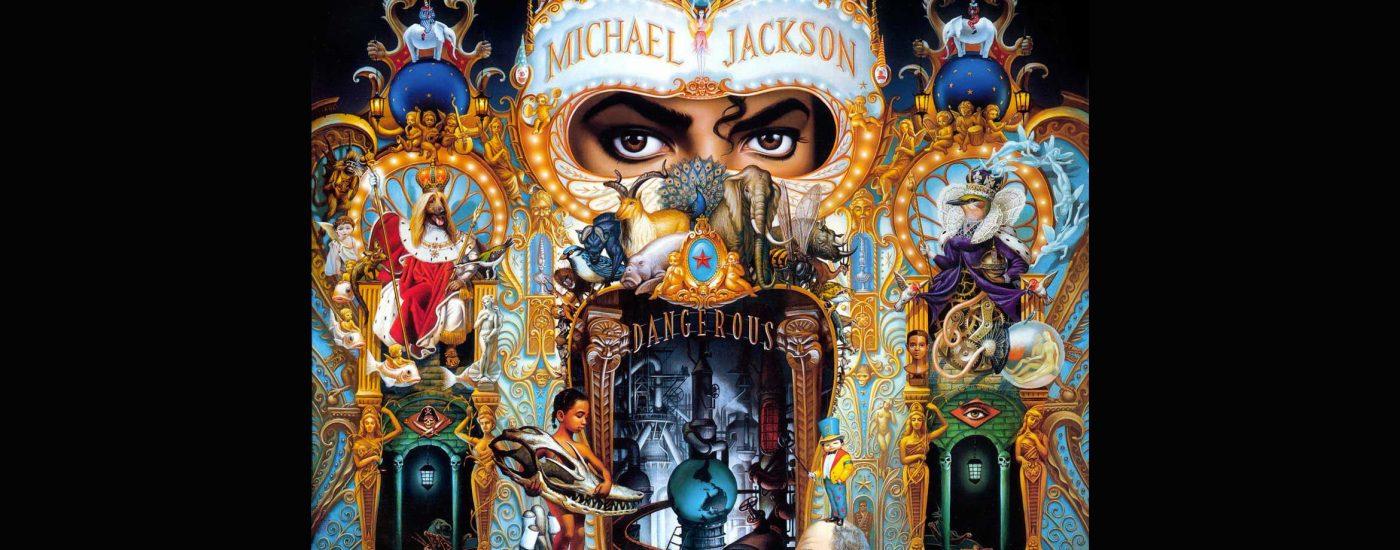 Pochette de l'album Dangerous, 1991.