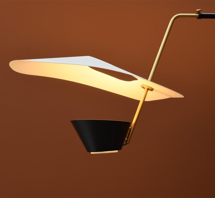 Applique G25, design Pierre Guariche, détail, réédition Sammode Studio.