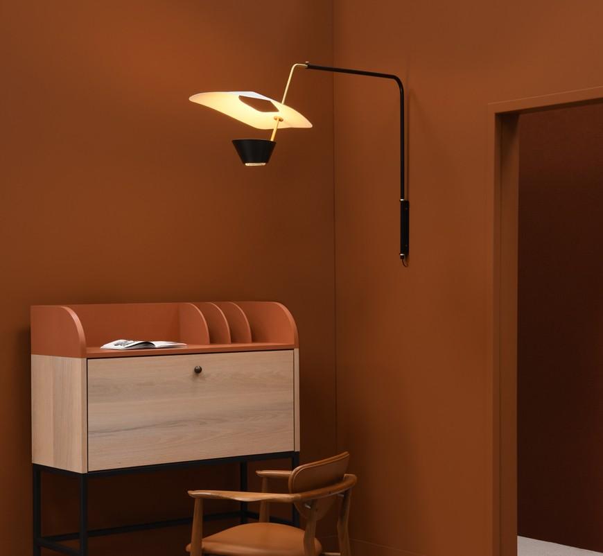 Applique G25, design Pierre Guariche, réédition Sammode Studio.