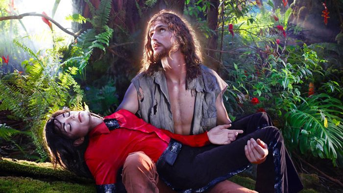 David LaChapelle, American Jesus : Hold Me, Carry Me Boldly, 2009