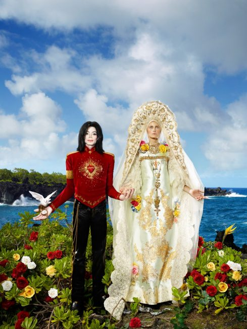 David LaChapelle, photographie The Beatification : I'll never let you part for you're always in my heart. 2010