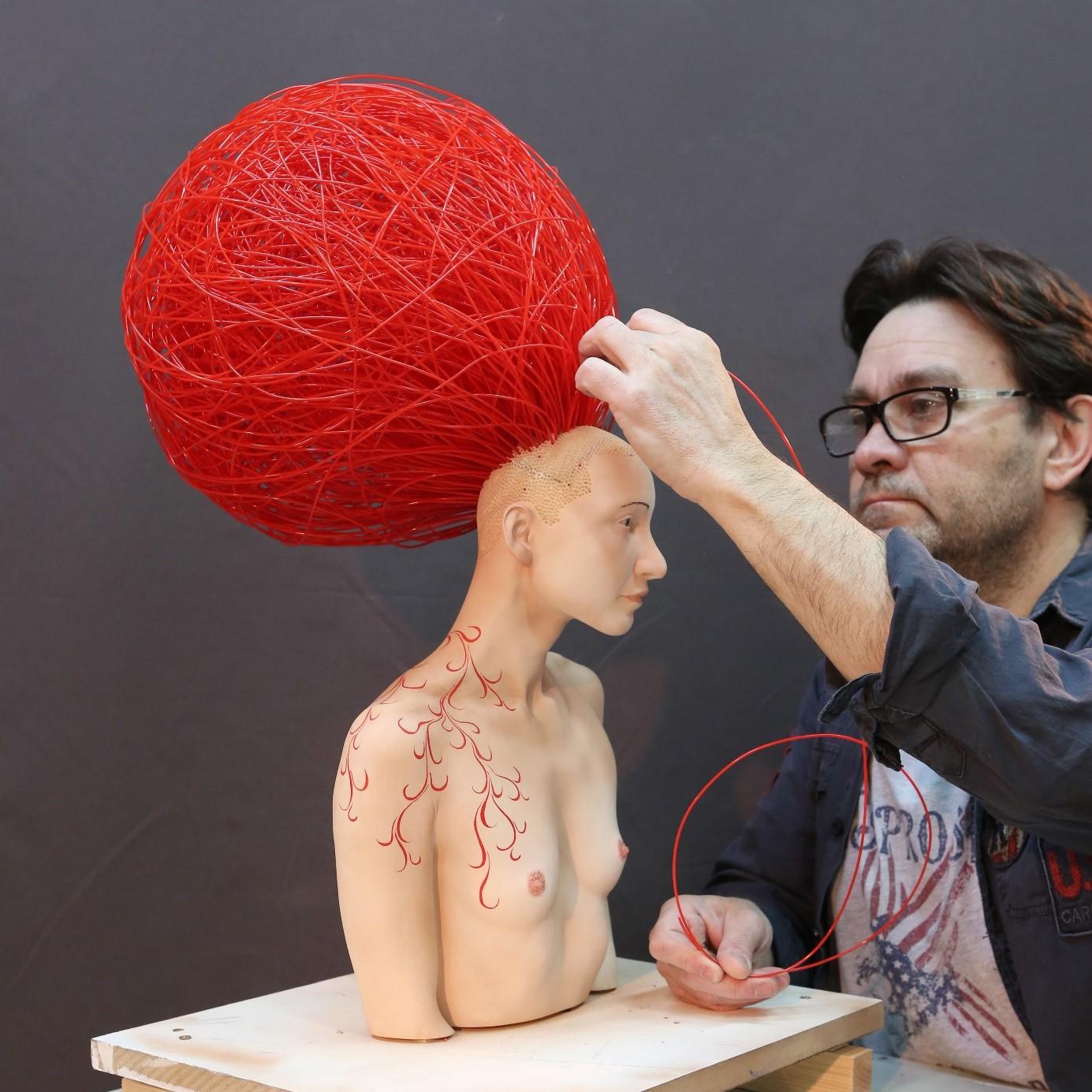 Du Musée Grévin à l'oeuvre d'art : Stéphane Barret, sculpteur hyperréaliste