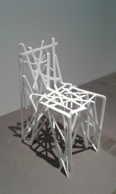 Patrick Jouin, Chaise Solid C2 (2004)