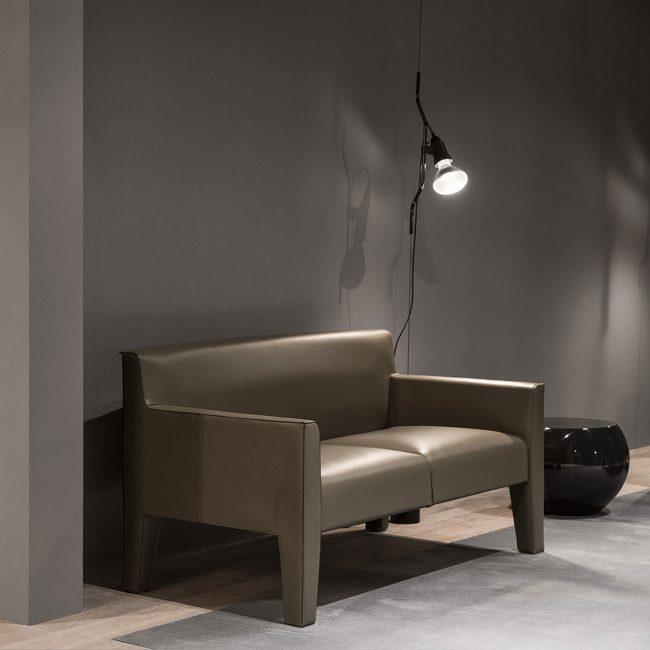 Lampe Parentesi, design Achille Castiglioni & Pio Manzù, 1971 pour Flos.